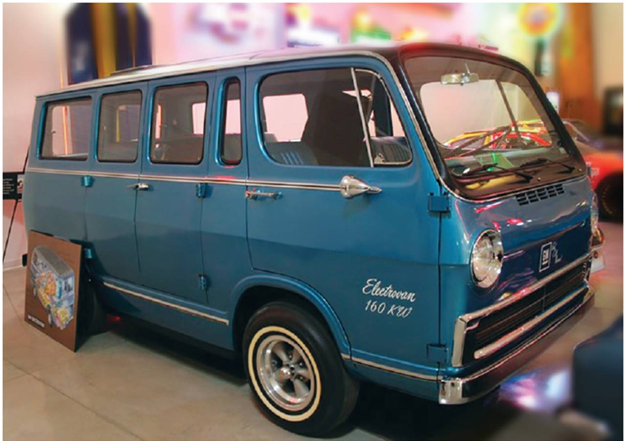 Figure - 1 A minivan powered with fuel cells manufactured by General Motors in 1966.