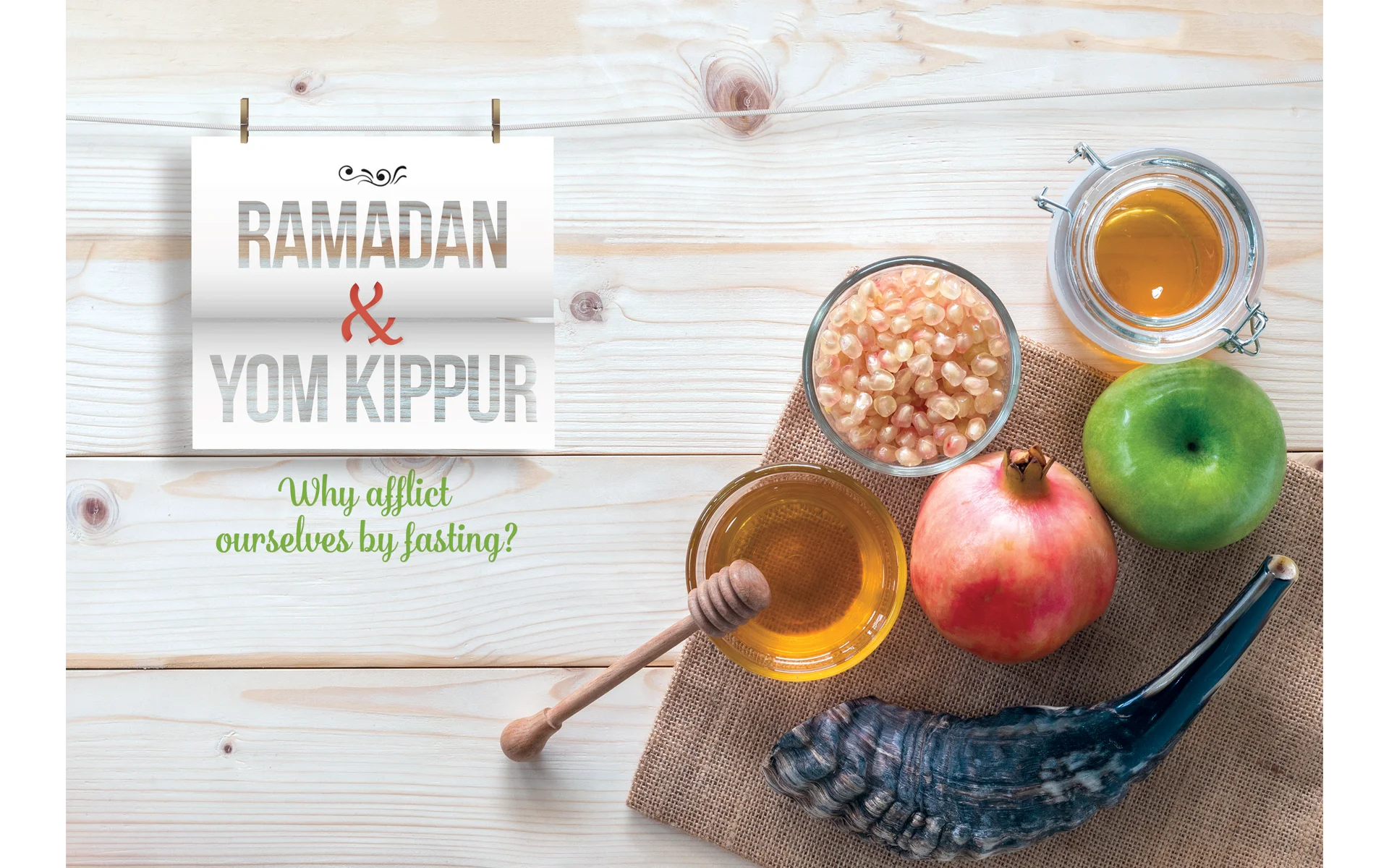 Ramadan and Yom Kippur: Why Afflict Ourselves By Fasting?