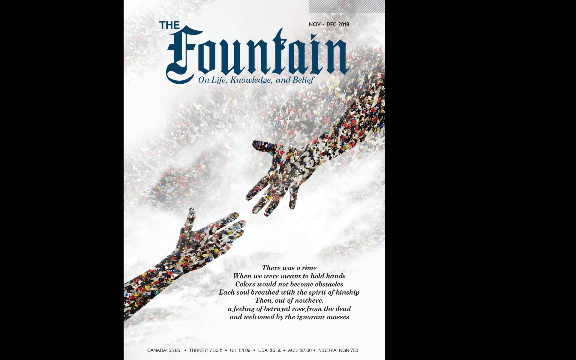 The Fountain Issue 126 (Nov - Dec 2018) Cover